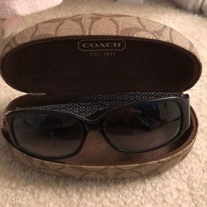 Coach Keri sunglasses with case